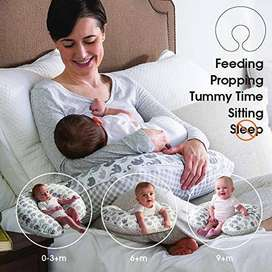 Self-Feeding Baby Pillows Detachable Infant Pillow Hands Free Cotton C