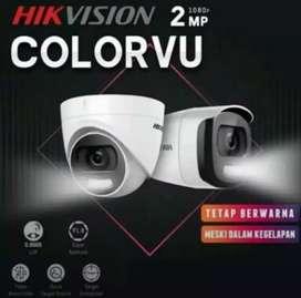 Pemasangan CCTV Lengkap. Camera, DVR dan Hardisk. Bisa Online