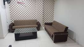 Daily weekly & monthly Basis fully furnished flat