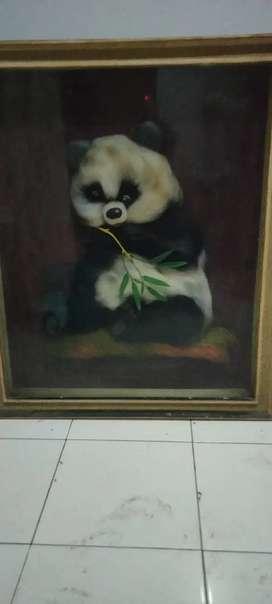 Dijual lukisan handmade dari benang