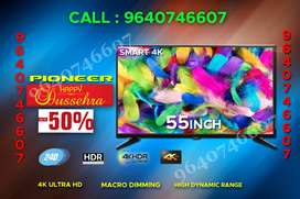 55inches / Pioneer smart led tv @@ 16999/-Dasara offer few days left
