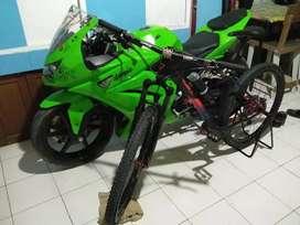 Ninja 250 hijau