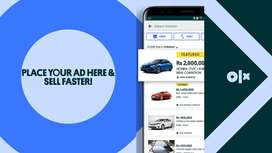 Feature your Ad on OLX! For as low as PKR 500