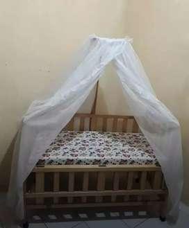 Baby Box/Tempat Tidur Bayi kayu