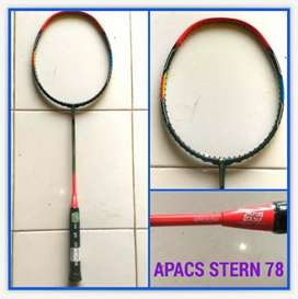 New raket badminton apacs stern 78 by Ahardin smash