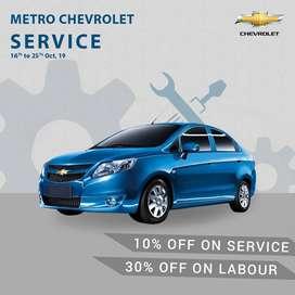 Chevrolet Service Center Near me in Vsant Kunj 9 six 433-47654