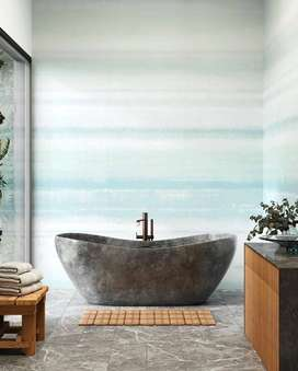 Bathtub Mewah Mamuju Klasik Terrazzo