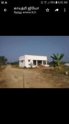 Land for sale with ready to shift house
