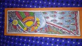 Madhubani printings hand made