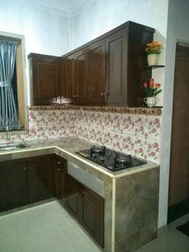 Kitchen set kayu jati belanda