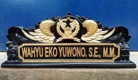 Spesialis Papan Nama Ukir