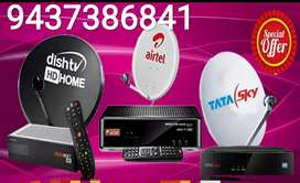 DISH TV ! VIDEOCON D2H ! AIRTEL! All DTH connection