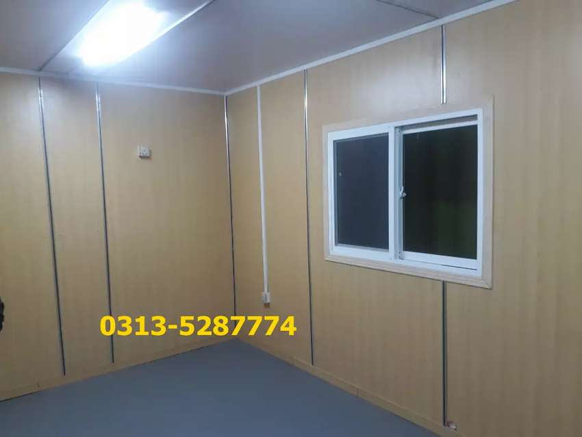 Prefab house porta cabin guard room mobile cafe office container etc. 0