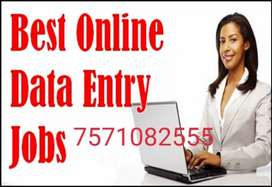 Part Time Offline Home Based Data Entry Jobs in India.