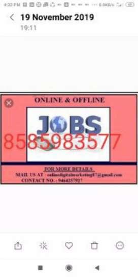 Easy home based job data entry work