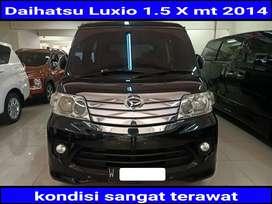 Daihatsu Luxio 1.5 X bensin Manual 2014 kondisi terawat