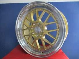 Velg Murah Hsr Ring16X7 H8X100/11143 Et40 Gold R