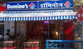 Dominos pizza डिलीवरी ब्वॉय full time and part time job...