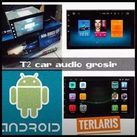 Mumer Mtech 2din android asli 7inc bagus+camera hd harga grosir mantul