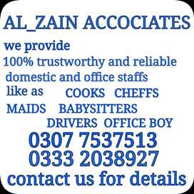 Cook Driver Baby.  Sitters.  House maids. Cheff .etc avalaible