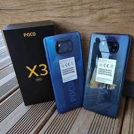 Ready Poco X3 NFC, Garansi resmi Tam 15bulan.