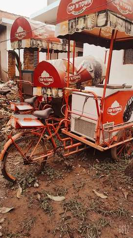 All 3 ice cream carts with freezer in just 30000