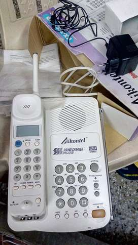 Aikontel make cordless rechargeable  phone