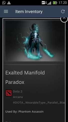 Jual Exalted Manifold Paradox Lv 3