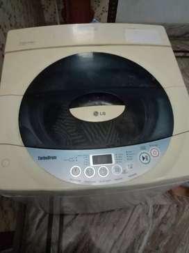 LG made washing machine top load