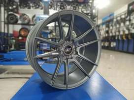 Velg racing cocah HSR ring 17 for jazz mobilio avanza vios dll