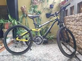 Sepeda MTB size 26 Maxis Wimcycle rem cakram