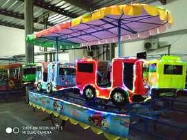 pabrik resmi odong odong kereta mini komedi putar wahana usaha