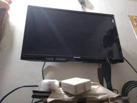 Samsung led TV 24inch and Videocon d2h