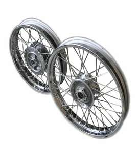 Royal Enfield Wheels Set like new