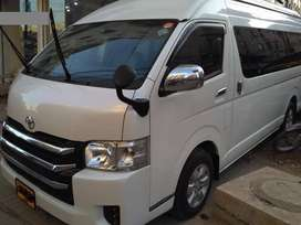 Toyota Hiace Automatic 2016 on easy installment..