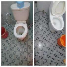 Bersih kamar mandi Jadi KINCLONG