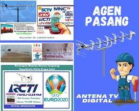 Specialist instalasi pasang servis antena tv led kedung waringin