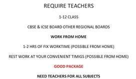 Teachers Online Classes