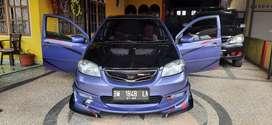 Jual mobil Toyota Vios G Warna ungu metalic th 2003.