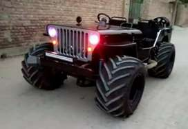 Modified special style jeep