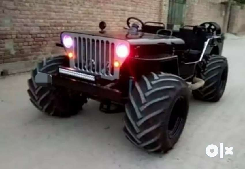 Modified special style jeep 0