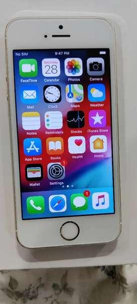 Iphone 5 s 16 gb gold scrach less