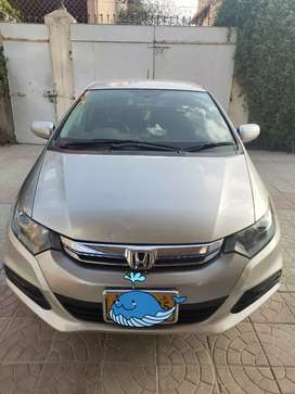 Honda Insight-2012 (Facelift) hybrid car