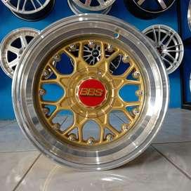 BBS RS R15x7.0/8.5/pcd 4x100/114.3 Avanza Xenia Brio Vios Yaris March