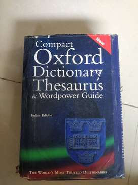 Oxford dictionary and word power made easy