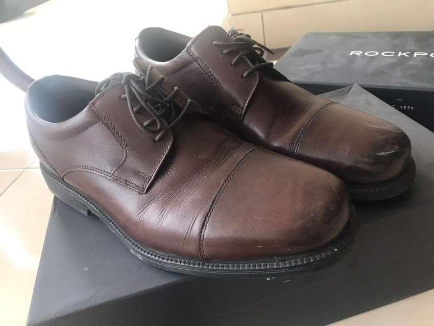 Sepatu Rockport Coklat ukuran 42,5