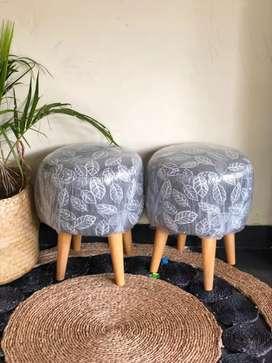 Kursi stool sepasang