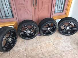 Velg VOSSEN R18x8 pcd4x100 + ban accelera 215-40 for freed vios