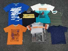 Wholesale Boys and girls tshirt export pyjama stocklot trackpant