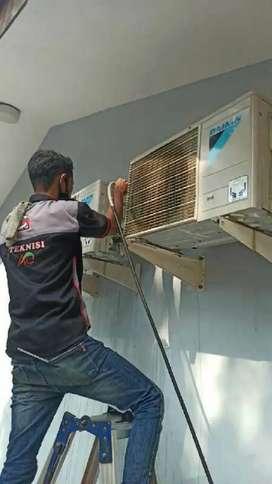 Melayani service panggil perbaikan Ac kulkas mesin cuci dll bergaransi